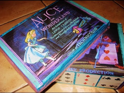 Alice in Wonderland theme box - Disney inspired
