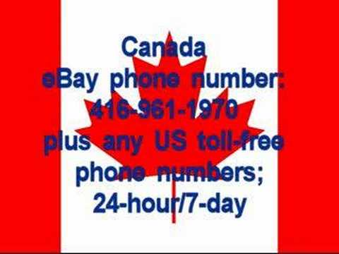 ebay phone numbers
