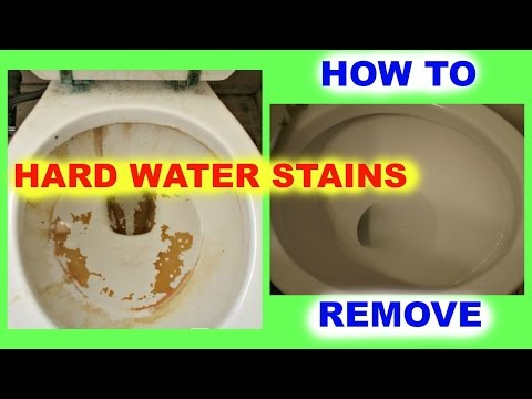 CHEAP LIVING: How To Remove Hard Water Stains From Toilet Bowls