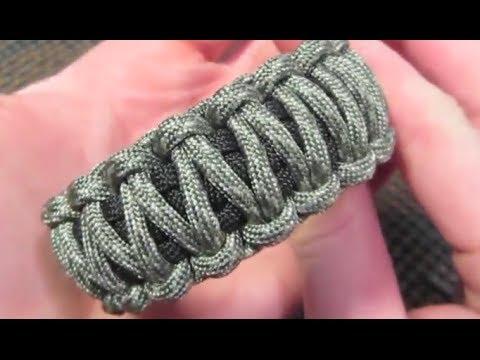 Easy King Cobra Paracord Bracelet Tutorial