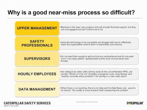 Safety Webinar Preview | Improve Your Near-miss Reporting Program