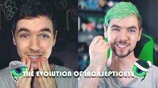 THE EVOLUTION OF JACKSEPTICEYE