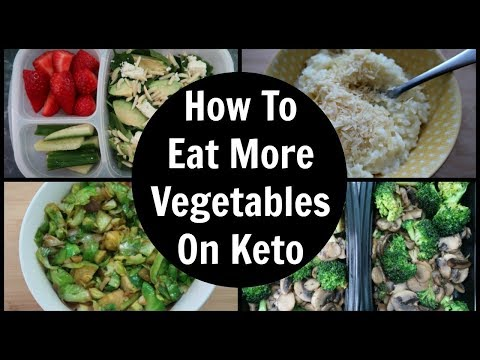 5 Ways To Eat More Vegetables On Keto