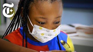 Inside a N.Y.C. School That Reopened During the Pandemic   Coronavirus News