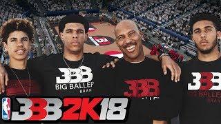 Unlocking Big Baller Brand Team in NBA 2K18