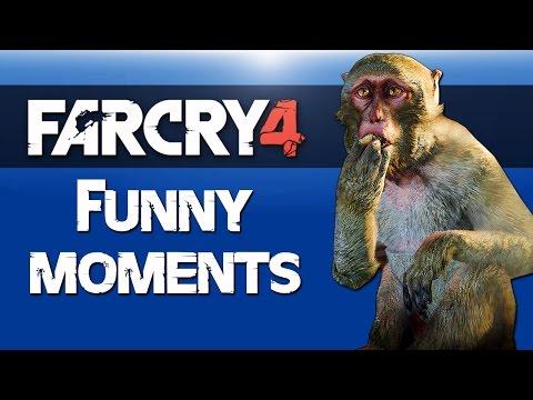 Far Cry 4 Map Editor Fun (Epic Battles & Flying Monkey) Xbox One