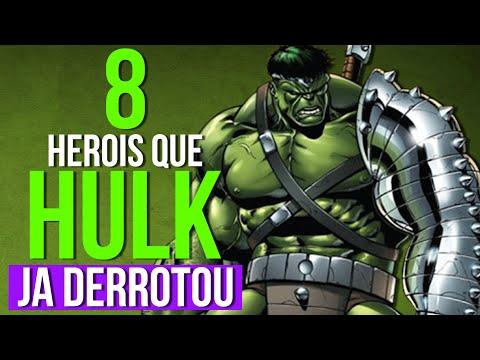 HULK - 8 HERÓIS QUE HULK JÁ DERROTOU FACILMENTE (Hulk Contra o Mundo)