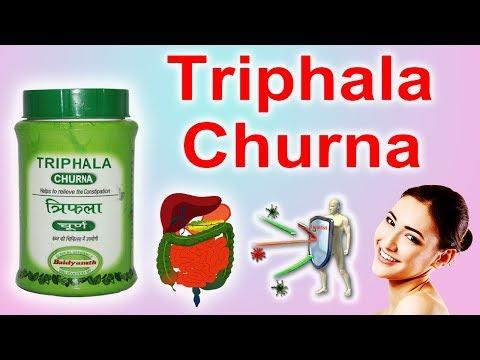 Triphala Churna- An Ayurvedic Medicine which Simultaneously Treats Many Chronic Diseases