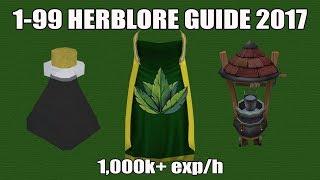 99 Herblore Guide Cheap