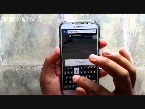 Samsung Galaxy S4: How to hide keyboard (Android Kitkat)