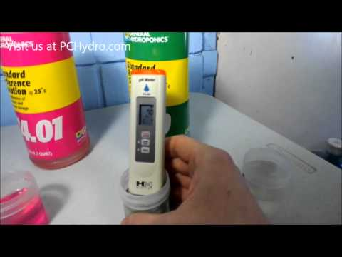 How to Calibrate a pH Pen