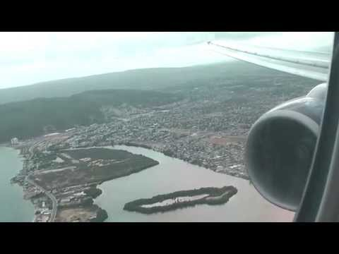 British Airways 777 - Gatwick takeoff and Kingston Jamaica landing