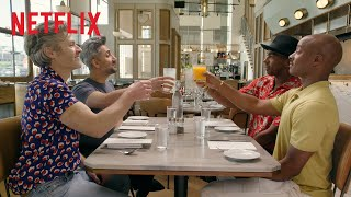 Tan France Goes on a Double Date with the Cast of Styling Hollywood | Netflix