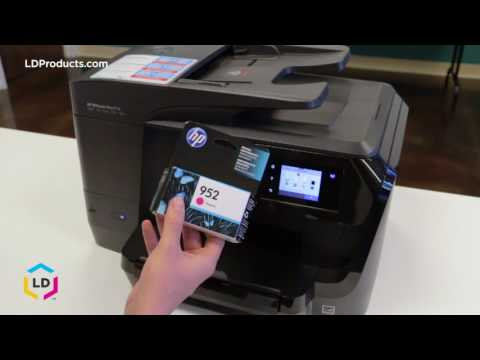 How to Replace Ink Cartridges in the OfficeJet Pro® 8710, 8715, 8720 and 8740