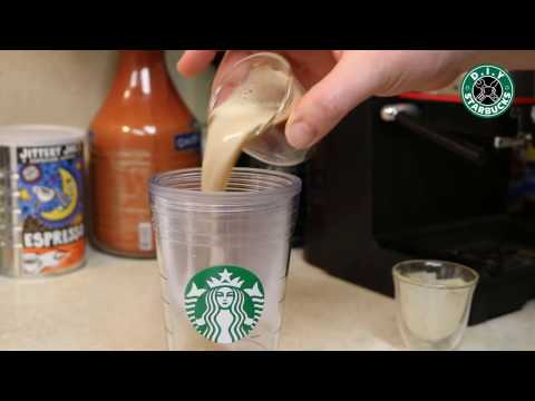 How to Make a Starbucks Caramel Iced Latte