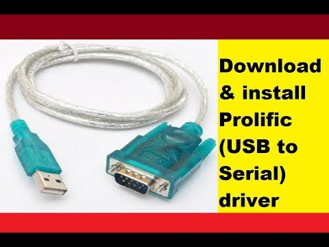 Download Prolific USB to Serial Driver for Windows 10 7 8 8.1 Vista XP 64/32 Bit