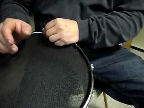 DIY mesh drum trigger