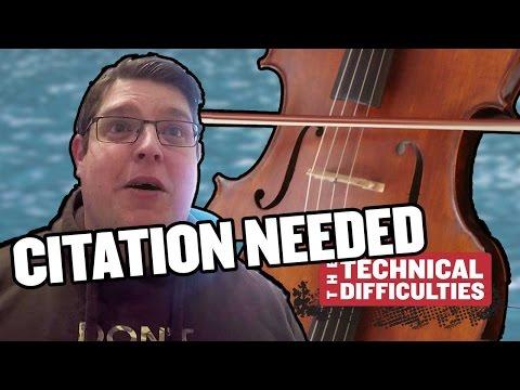 Cello Scrotum and Radium Water: Citation Needed 4x03