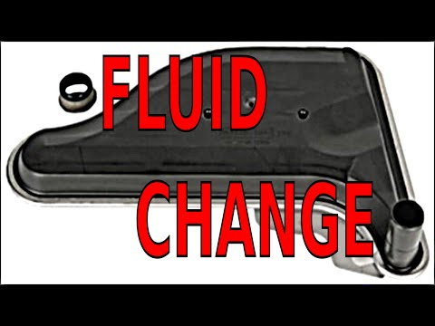 Automatic Transmission FLUID and FILTER change most cars trucks & vans GM Buick Chevy Olds Pontiac