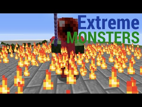 Extreme Monsters//Minecraft