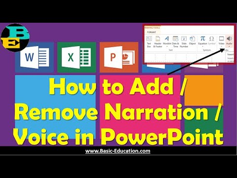 How to Add / Remove Narration in Power Point Slides | Short Video Tutorial MS Office