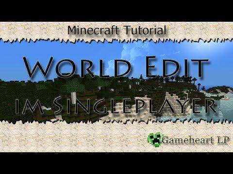 Minecraft - World Edit für Singleplayer installieren | Tutorial 1.7.x
