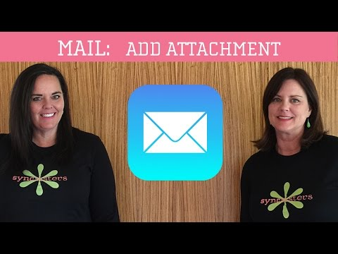 iPhone / iPad Mail - Add Attachment