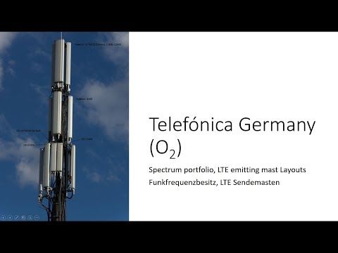 Telefónica O2 Germany 4G LTE Deployment and Masts Explained with RF Schematics