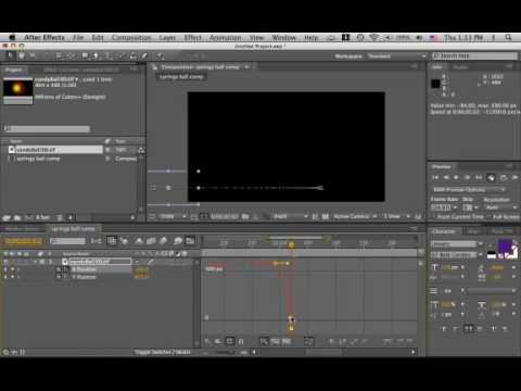 After Effects Slow in, fast out (rev. 1)