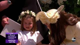 ROYAL WEDDING | Prince Harry and Meghan Markle depart St. George