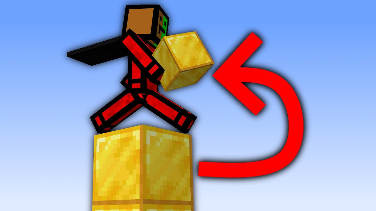 Minecraft, But You Earn Every Block You Step On...