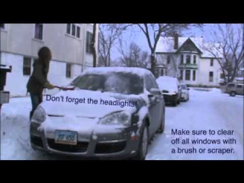 Driving Safety Tips in Snow and Ice