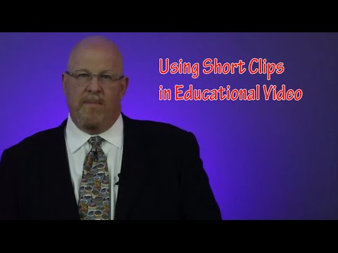 Using short clips in educational video - Entertainment Law Asked & Answered
