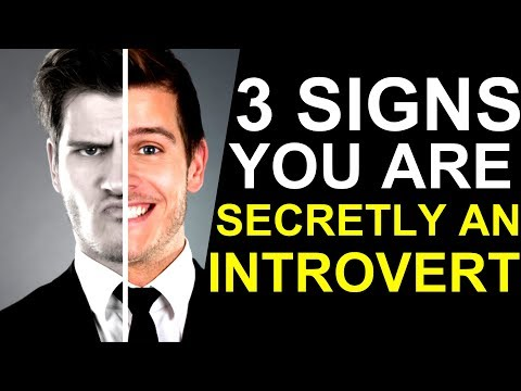 3 Signs You Are Secretly an Introvert