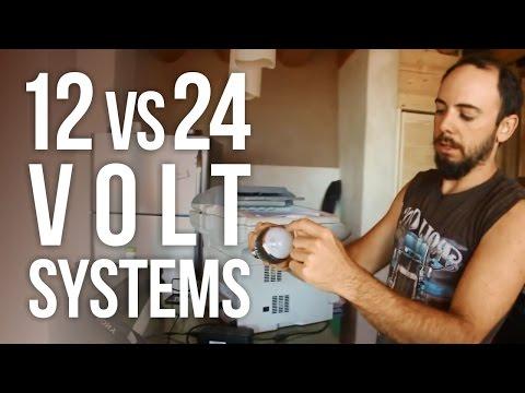 12 vs 24 Volt Solar Systems