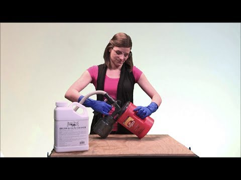 How to Clean Your Spray Paint Gun Easily and Safely (Tips from Tiff #8)