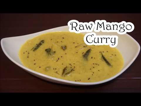 Raw mango curry kerala style