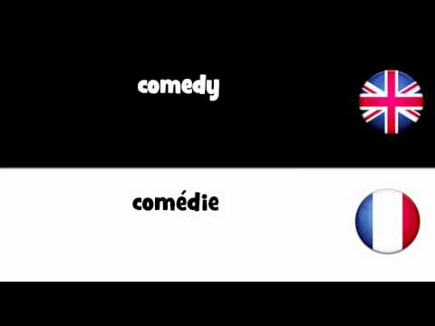 LEARN 1 FRENCH WORD = comedy