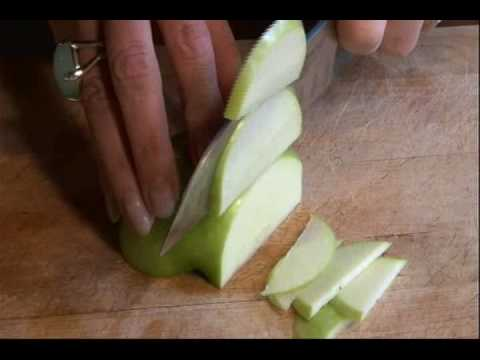 Granny Smith Apple Chips with a side of Giraffe