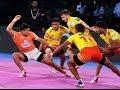 Pro Kabaddi 2018 Puneri Paltan Vs Gujarat Fortune Giants Highlights Hindi