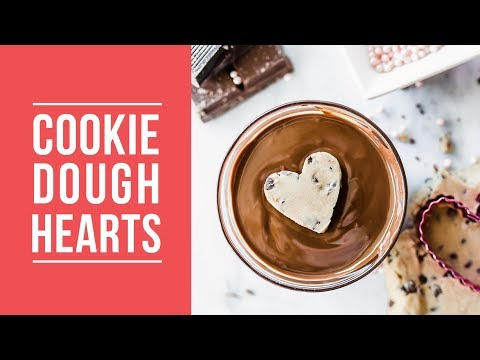 Cookie Dough Hearts | Easy Valentine's Day Recipe!