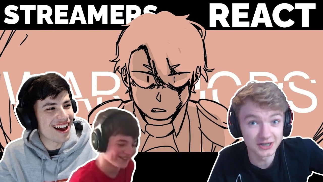 Streamers react to Dream Team SMP War Animatic | GeorgeNotFound, TommyInnit, Tubbo...