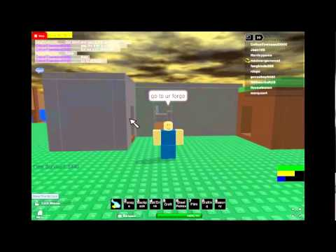 Roblox Survival 404 - S is for Steel!