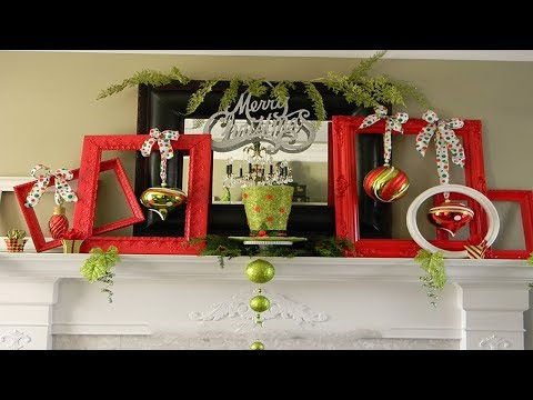2017 Christmas Mantel Decorations 3
