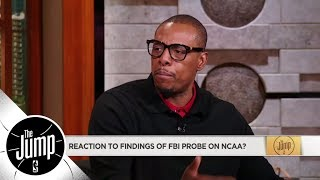Paul Pierce calls for NCAA players at big schools to get compensated | The Jump | ESPN