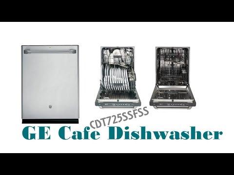 GE Cafe Dishwasher | GE CDT725SSFSS Cafe Stainless Steel Dishwasher