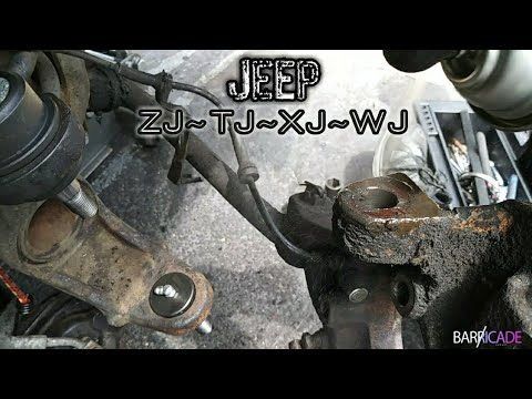 JEEP BALL JOINT REPLACEMENT (1993-'98 JEEP GRAND CHEROKEE)