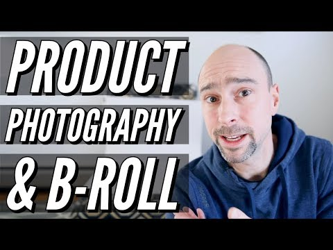 AWESOME Product Photography & B-Roll Video - Cheap & Easy!