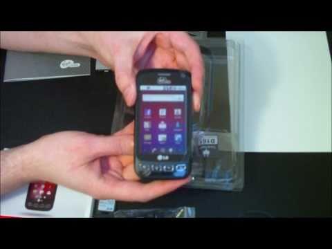 LG Optimus V Unboxing - Virgin Mobile