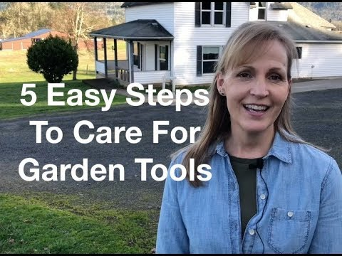 5 Easy Steps To Care For Garden Tools - AnOregonCottage.com